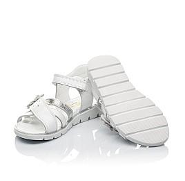 Детские босоножки Woopy Orthopedic белые для девочек натуральная кожа размер - (3529) Фото 2