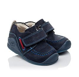 Детские мокасини Woopy Orthopedic темно-синие для мальчиков натуральный нубук размер 18-18 (3545) Фото 1