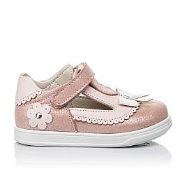 Детские туфли Woopy Orthopedic розовые для девочек натуральная кожа размер 18-21 (3552) Фото 4