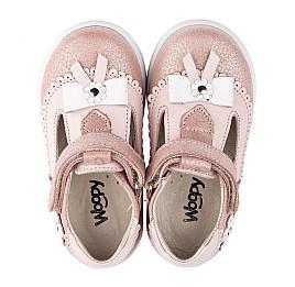 Детские туфли Woopy Orthopedic розовые для девочек натуральная кожа размер 18-21 (3552) Фото 5