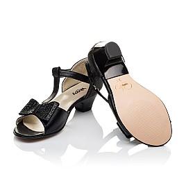 Детские босоножки Woopy Orthopedic черные для девочек современный искусственный материал размер - (3560) Фото 2