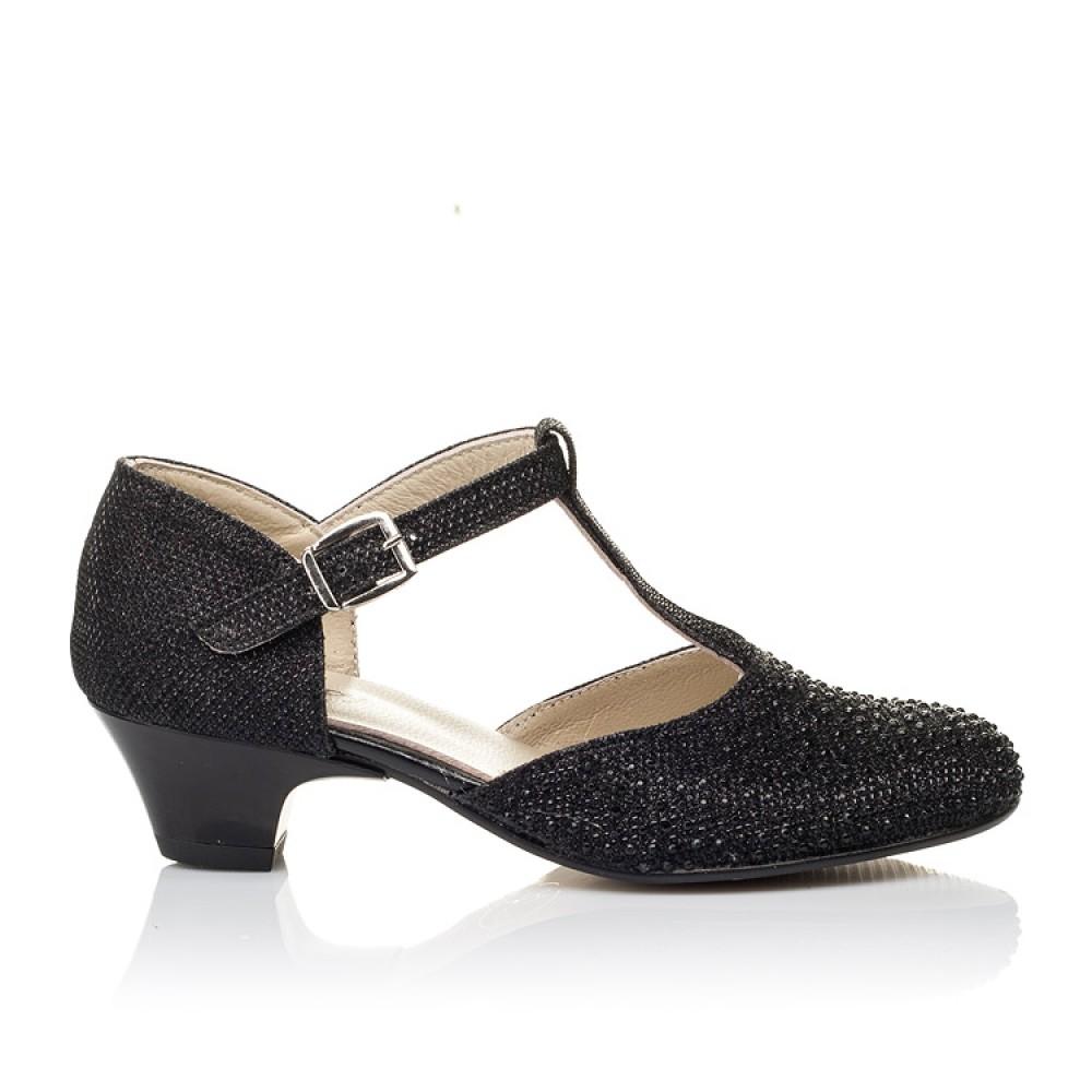 Детские туфли Woopy Orthopedic черные для девочек современный искусственный материал размер 27-37 (3567) Фото 4
