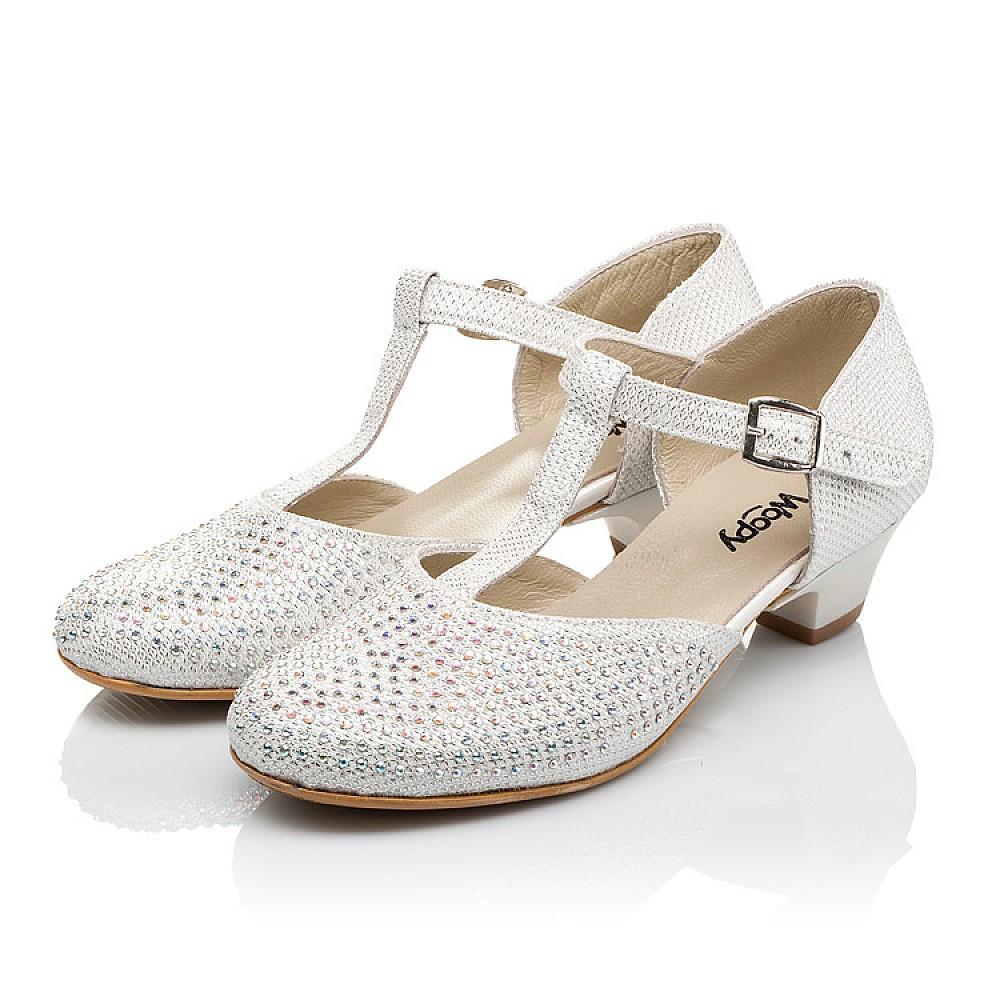Детские туфли Woopy Orthopedic серебряные для девочек современный искусственный материал размер 27-37 (3568) Фото 3
