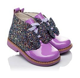 Для девочек Демисезонные ботинки  3572