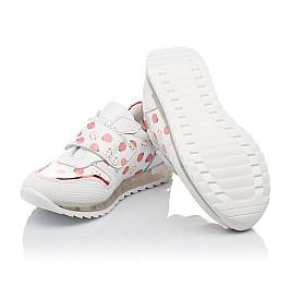 Детские кроссовки Woopy Orthopedic белые для девочек натуральная кожа размер 21-30 (3606) Фото 2
