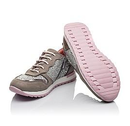 Детские кроссовки Woopy Orthopedic разноцветные для девочек натуральный нубук, современный искусственный материал размер 33-40 (3619) Фото 2