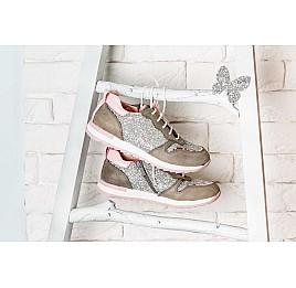 Детские кроссовки Woopy Orthopedic разноцветные для девочек натуральный нубук, современный искусственный материал размер 33-40 (3619) Фото 6