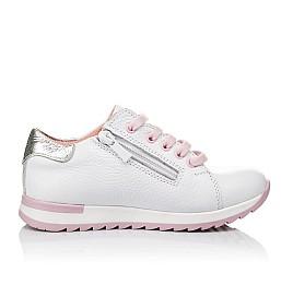 Детские кроссовки Woopy Orthopedic белые для девочек натуральная кожа размер 24-33 (3620) Фото 5