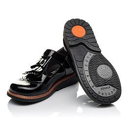 Детские туфли Woopy Orthopedic черные для девочек натуральная лаковая кожа размер 29-33 (3632) Фото 2