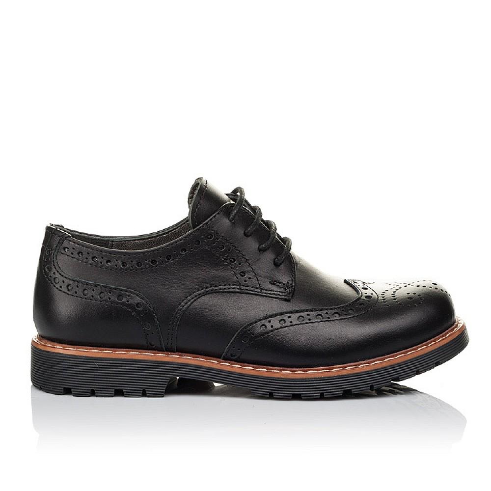 Школьная обувь Туфлии (шнурок-резинка) 3633
