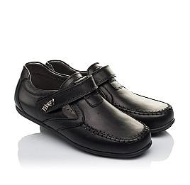 Детские туфли Woopy Orthopedic черные для мальчиков  натуральная кожа размер 32-37 (3634) Фото 1