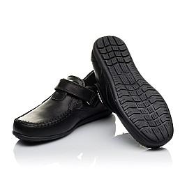 Детские туфли Woopy Orthopedic черные для мальчиков  натуральная кожа размер 32-37 (3634) Фото 2