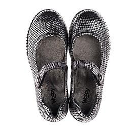 Детские туфли Woopy Orthopedic серебряные для девочек  натуральная кожа размер 35-35 (3644) Фото 5