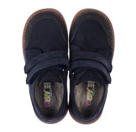 Детские туфли Woopy Orthopedic синие для мальчиков натуральный нубук размер - (3646) Фото 5