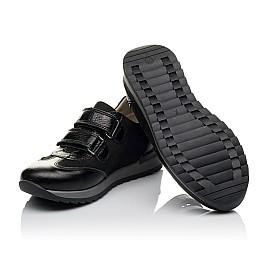 Детские кроссовки Woopy Orthopedic черные для мальчиков натуральная кожа и нубук размер 30-39 (3648) Фото 2