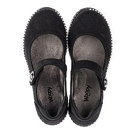 Детские туфли Woopy Orthopedic черные для девочек натуральный нубук размер 30-35 (3650) Фото 5