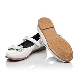 Детские туфли Woopy Orthopedic белые для девочек натуральная кожа размер 30-37 (3651) Фото 2