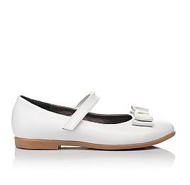 Детские туфли Woopy Orthopedic белые для девочек натуральная кожа размер 30-37 (3651) Фото 4