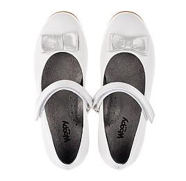 Детские туфли Woopy Orthopedic белые для девочек натуральная кожа размер 30-37 (3651) Фото 5