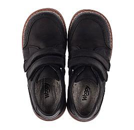 Детские туфли Woopy Orthopedic черные для мальчиков натуральный нубук размер - (3655) Фото 5