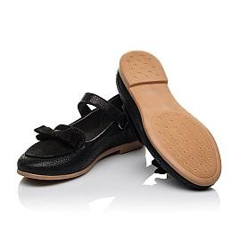 Детские туфли Woopy Orthopedic черные для девочек натуральный нубук и замша размер 29-36 (3656) Фото 2