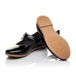 Детские туфли Woopy Orthopedic черные для девочек натуральная лаковая кожа размер 29-29 (3658) Фото 2