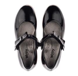 Детские туфли Woopy Orthopedic черные для девочек натуральная лаковая кожа размер 29-29 (3658) Фото 5