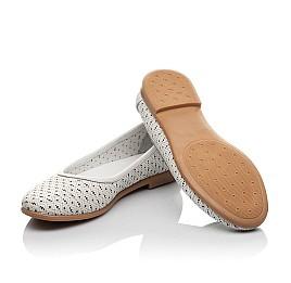 Детские туфли Woopy Orthopedic белые для девочек  натуральная кожа размер 33-34 (3680) Фото 2