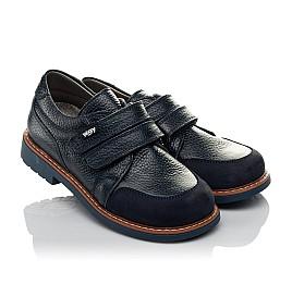 Детские туфли Woopy Orthopedic синий для мальчиков натуральная кожа размер 29-34 (3682) Фото 1