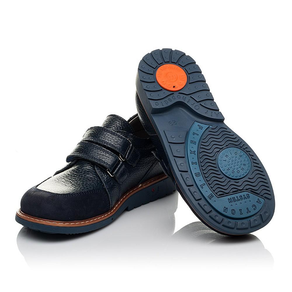 Детские туфли Woopy Orthopedic синий для мальчиков натуральная кожа размер 29-34 (3682) Фото 2