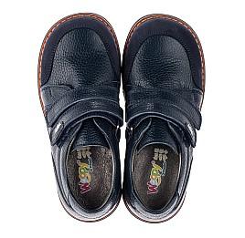 Детские туфли Woopy Orthopedic синий для мальчиков натуральная кожа размер 29-34 (3682) Фото 5