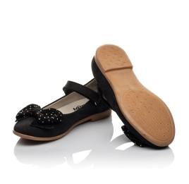 Детские туфли Woopy Orthopedic черный для девочек натуральный нубук размер 29-35 (3690) Фото 3