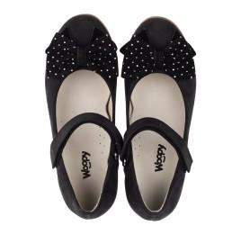 Детские туфли Woopy Orthopedic черный для девочек натуральный нубук размер 29-35 (3690) Фото 5