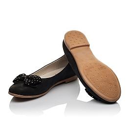 Детские туфли Woopy Orthopedic черный для девочек натуральный нубук размер 37-39 (3691) Фото 2
