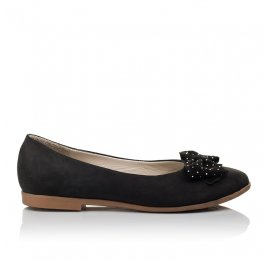 Детские туфли Woopy Orthopedic черный для девочек натуральный нубук размер 37-39 (3691) Фото 4