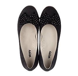 Детские туфли Woopy Orthopedic черный для девочек натуральный нубук размер 37-39 (3691) Фото 5