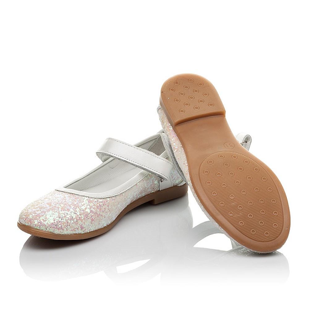 Детские туфли Woopy Orthopedic белые, розовые для девочек современный искусственный материал размер 31-37 (3693) Фото 2