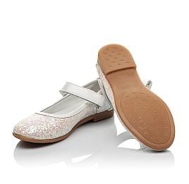 Детские туфли Woopy Orthopedic белые, розовые для девочек современный искусственный материал размер 32-33 (3693) Фото 2