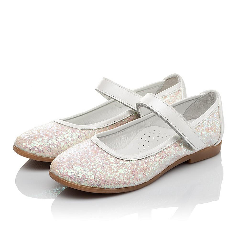 Детские туфли Woopy Orthopedic белые, розовые для девочек современный искусственный материал размер 31-37 (3693) Фото 3