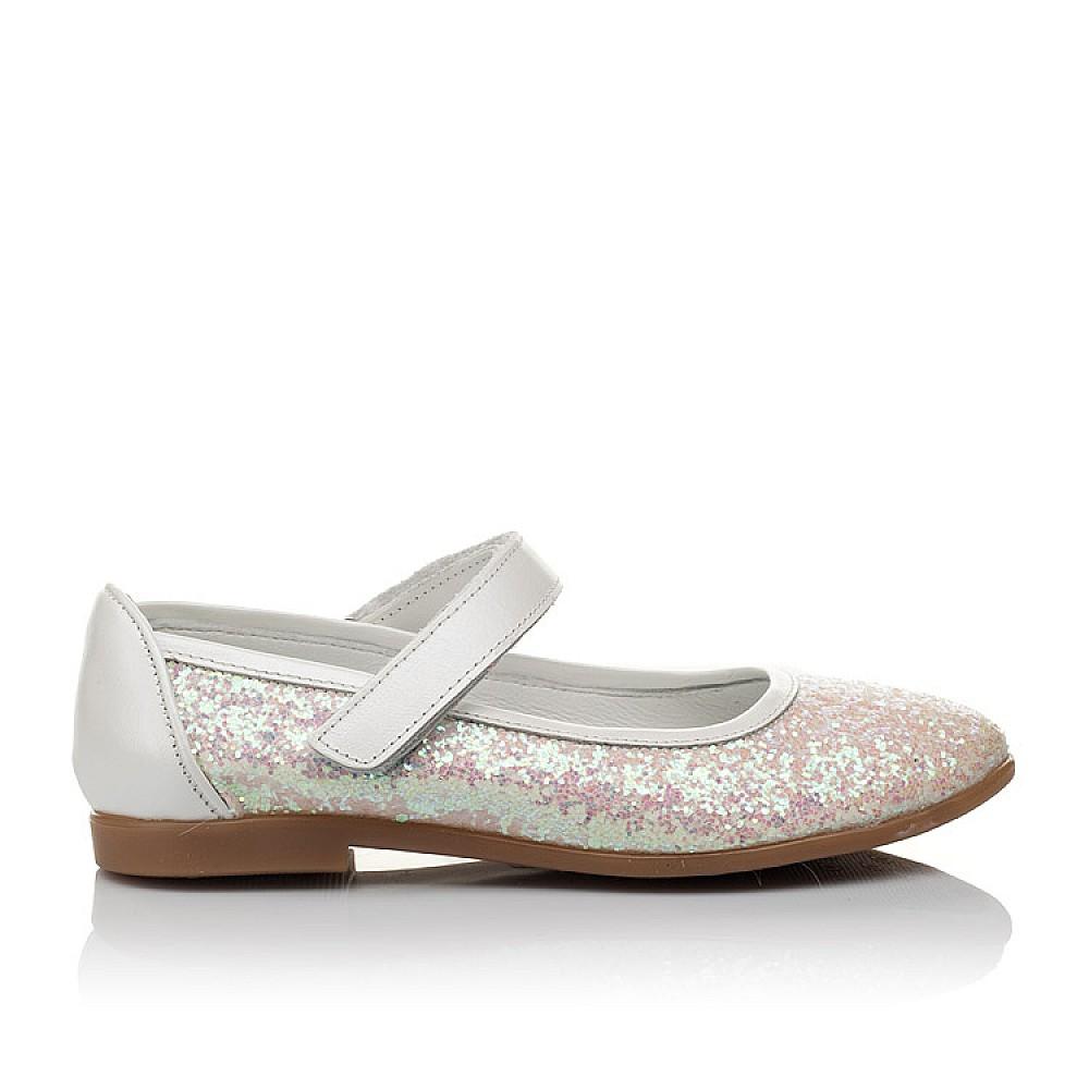 Детские туфли Woopy Orthopedic белые, розовые для девочек современный искусственный материал размер 31-37 (3693) Фото 4