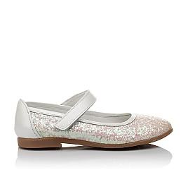 Детские туфли Woopy Orthopedic белые, розовые для девочек современный искусственный материал размер 32-33 (3693) Фото 4