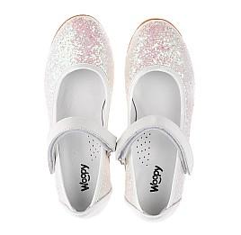 Детские туфли Woopy Orthopedic белые, розовые для девочек современный искусственный материал размер 32-33 (3693) Фото 5