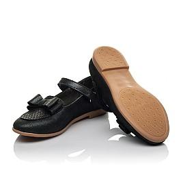 Детские туфли Woopy Orthopedic темно-синие для девочек натуральная кожа размер 28-36 (3698) Фото 2