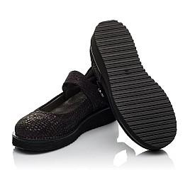 Детские туфли Woopy Orthopedic фиолетовые для девочек натуральный нубук размер 32-37 (3706) Фото 2