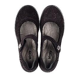 Детские туфли Woopy Orthopedic фиолетовые для девочек натуральный нубук размер 32-37 (3706) Фото 5