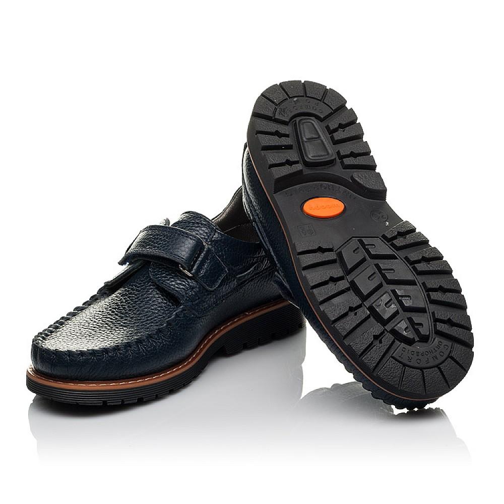 Детские туфли Woopy Orthopedic синий для мальчиков натуральная кожа размер 29-39 (3714) Фото 2