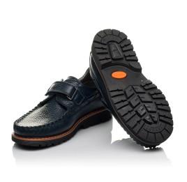 Детские туфли Woopy Orthopedic синий для мальчиков натуральная кожа размер 30-39 (3714) Фото 2