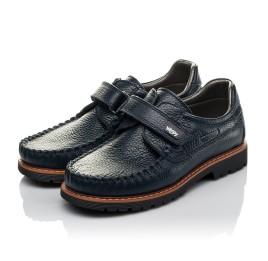 Детские туфли Woopy Orthopedic синий для мальчиков натуральная кожа размер 30-39 (3714) Фото 3