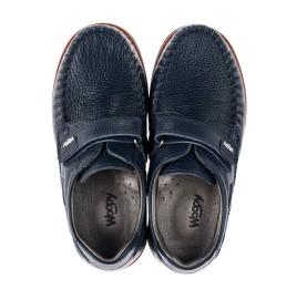 Детские туфли Woopy Orthopedic синий для мальчиков натуральная кожа размер 30-39 (3714) Фото 5