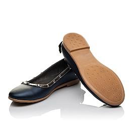 Детские туфли Woopy Orthopedic синие для девочек натуральная кожа размер 38-39 (3716) Фото 2